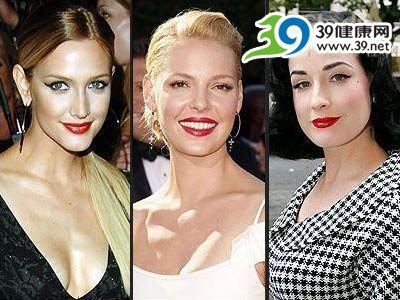 好萊塢女星揭示08彩妝