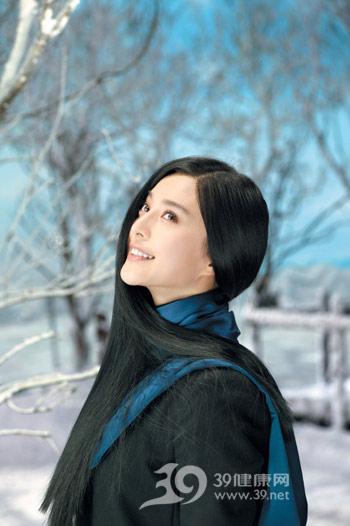 范冰冰冬日護髮秘訣