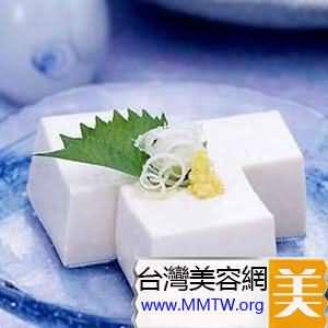 豆腐擦臉法