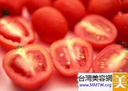 西紅柿汁使皮膚漸漸變白
