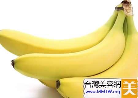香蕉使皮膚細膩光滑