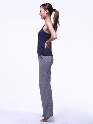良好的站姿可以讓你的腹部立刻瘦上4、5cm