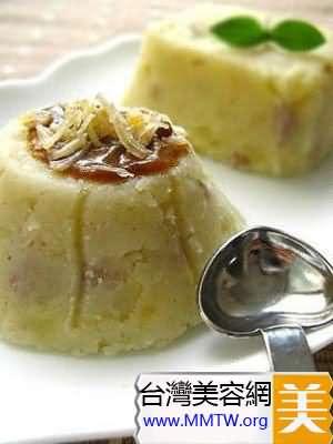 熟土豆面膜製法