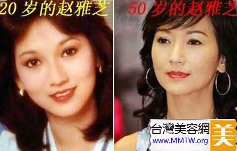 趙雅芝50歲保養如此亮麗