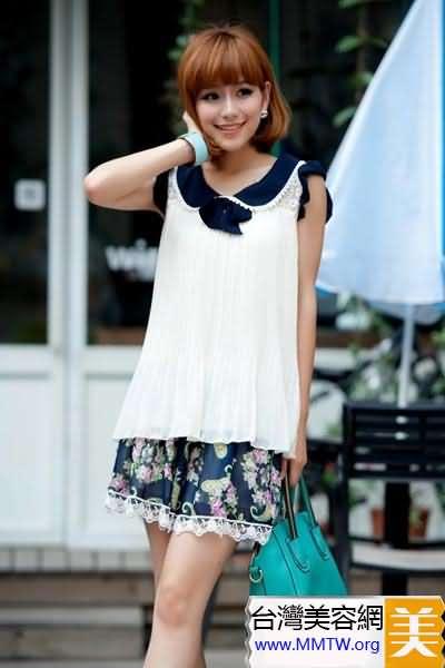 矮個子女生穿衣搭配圖片