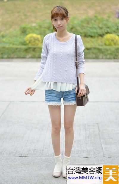 短衫配短褲最顯高 小個子春季必學