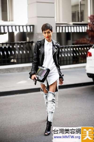 長腿秀出來 高個女生長褲搭配顯氣場