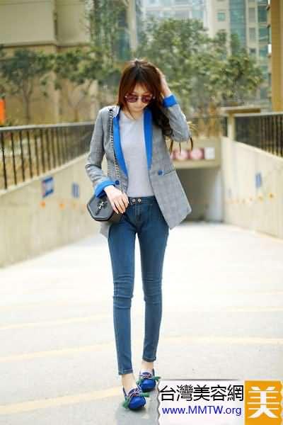 西裝小腳褲輕便搭 修身顯瘦最在行