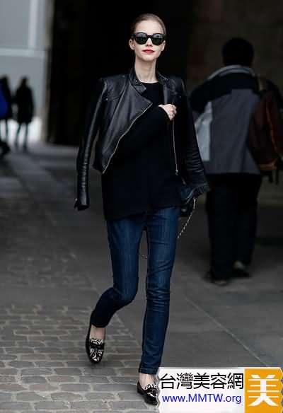 毛衣牛仔褲時髦搭法 穿出率性與優雅