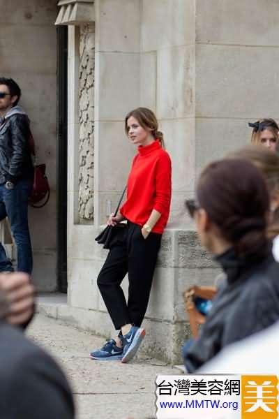 女士蘿蔔褲時尚搭配 幹練優雅倍有OL范
