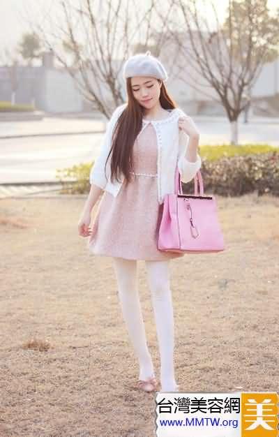紅粉公主甜蜜派 春季粉色搭配甜死人