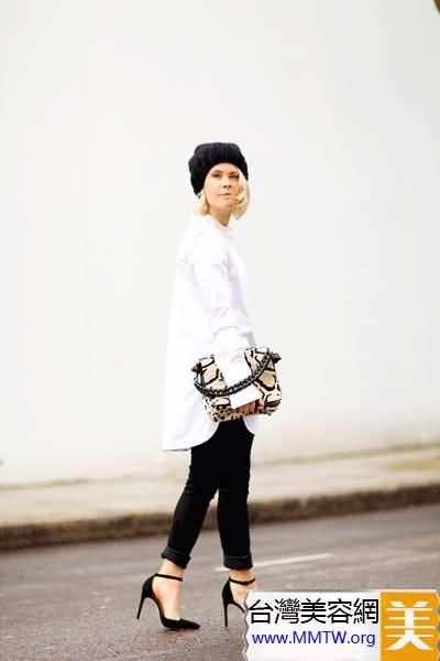 春季內搭白襯衣 8種搭配更精彩