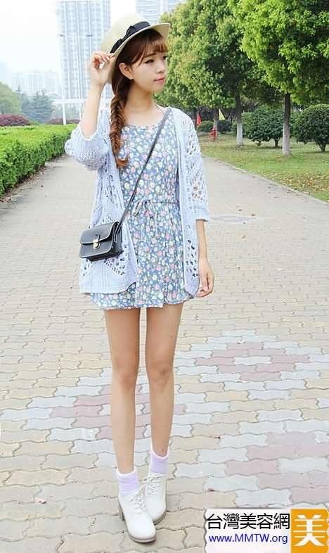 薄開衫當防曬衣 搭配連衣裙舒適又美麗