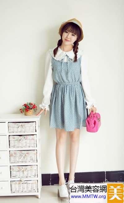 春夏防曬帶帽子 搭配裙子甜美減齡