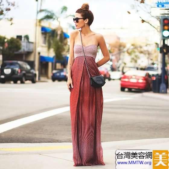 平胸女性感穿衣法 沒有胸器露香肩