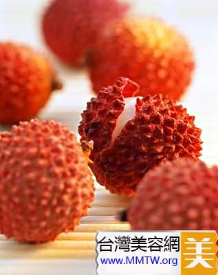 荔枝是排毒養顏的理想水果
