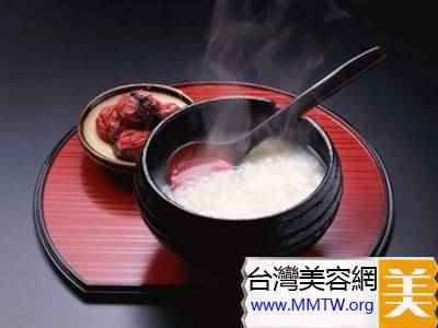 生薑白粥濃湯