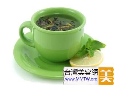 綠茶+玫瑰花茶