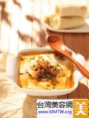 營養鹹豆花