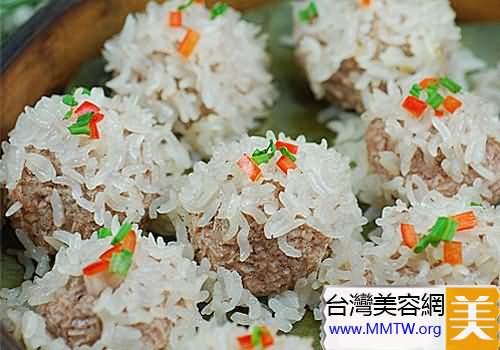 三色糯米飯
