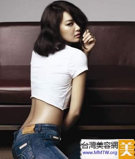 在男人的眼裡,細腰圓臀的女人才稱得上真正的美女。