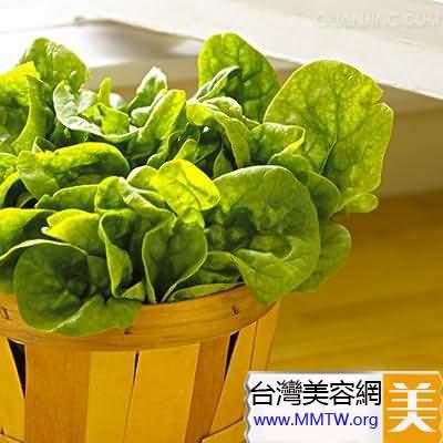 菠菜可以促進血液循環