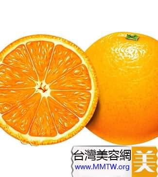 橘黃色水果
