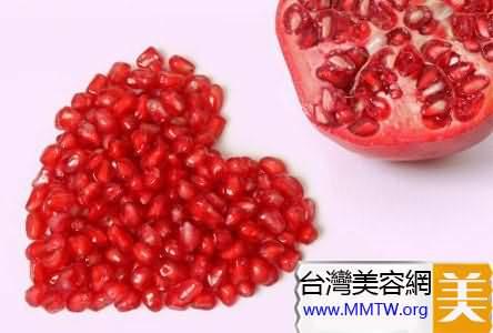 紅石榴是抗氧美容的最佳水果