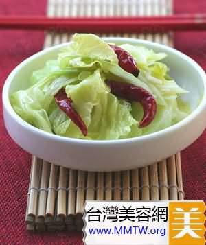 醋拌圓白菜