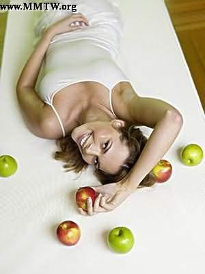 蘋果早餐修身纖體造窈窕美人