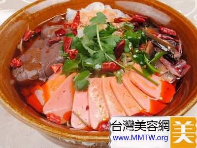 菠菜豬血湯