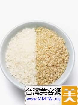 糙米和麥片都有豐富的營養
